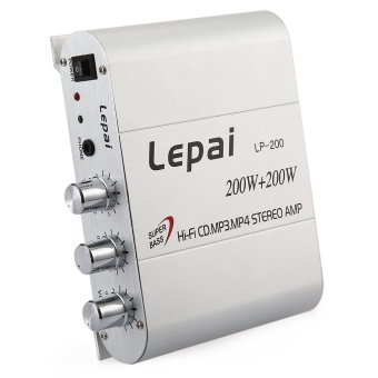 Harga Lepai LP - 200 Hifi Stereo Power Digital Amplifier with 3.5mm Audio Input