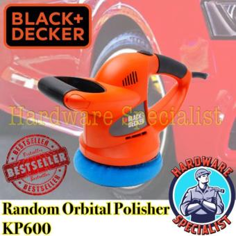 Harga Black And Decker Random Orbit Waxer Car Polisher KP600