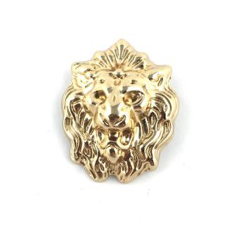 Harga Gold Lion Head Lapel Pin