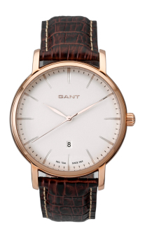 Harga GANT FRANKLIN BROWN LEATHER STRAP WATCH W70435 - intl