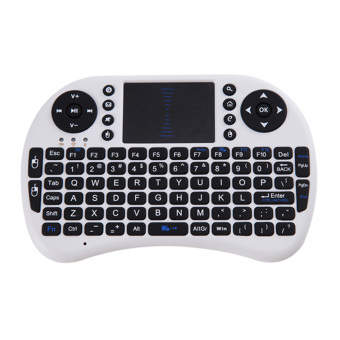 Harga 2.4G Wireless Air Mouse Rechargeable Remote Touch pad Android TV BOX - intl