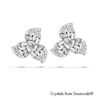 Harga Florinda Earrings (Crystal) - Crystals from Swarovski®
