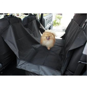 Marvogo Pet Dog Car mat Seat Cover Puppy Safety Waterproof mats Hammock Protector Rear Back(Black) - intl