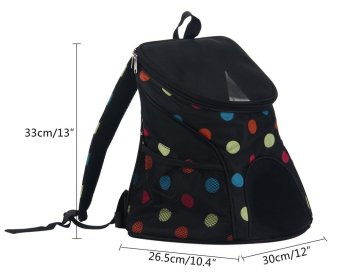 Harga Leegoal Pet Dog Cat Carrier Soft-sided Backpack In Outdoor For Dogs And Cats-Flower