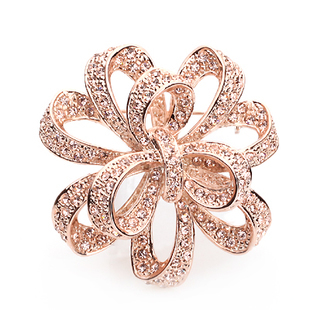 Harga Fancy high-grade double brooch