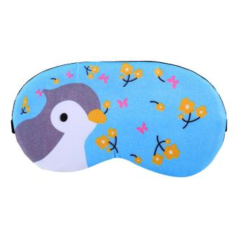 Cooling or Hear Eye Mask With Removable Ice Bag Insert(bird) - intl