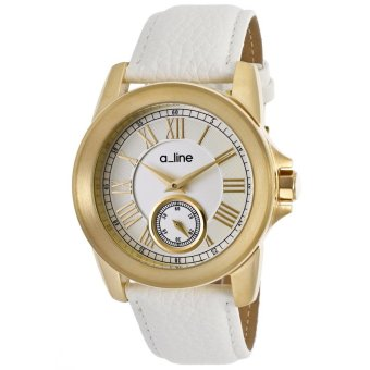 A_Line Women's Watches Amare White AL-80022-YG-02-WH