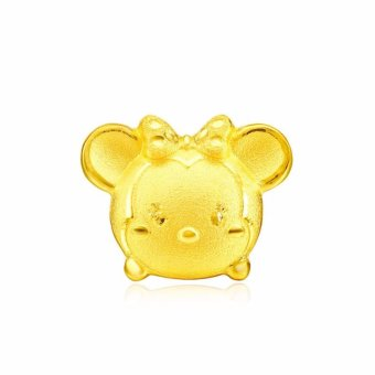 Harga Chow Tai Fook 999.9 Pure Gold Single Earring - Disney Tsum Tsum (Minnie)