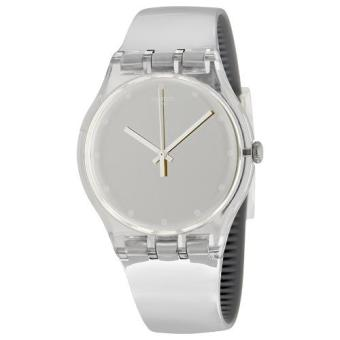 Harga Swatch Shiny Moon SUOK121 Analog Gent Watch