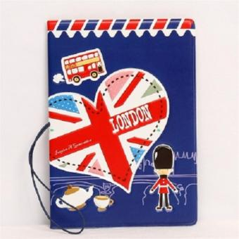 Harga 3D Design I Love London Passport Cover