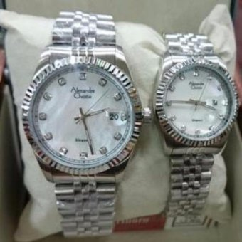Harga ALEXANDRE CHRISTIE LOVER PAIR STAINLESS 8363BSSMS-PAIR