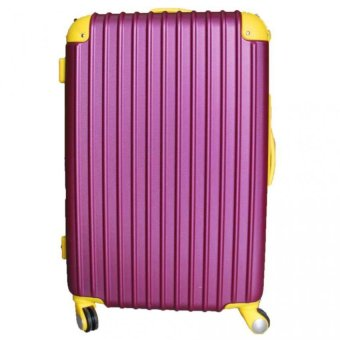 Harga Winning #8106 ABS Hard Case Expandable Luggage with TSA Lock 24inch (Purple)