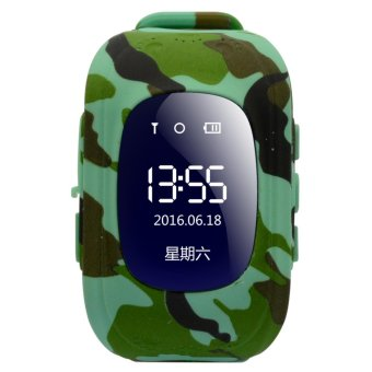 2Cool Phone Call Kids Smart Watch GPS Tracker Anti Lose Children Watch - intl