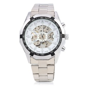 Harga Winner F1205158 Automatic Mechanical Watch Steel Strap for Male