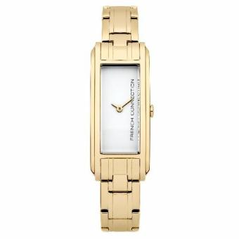 French Connection Claremont - Gold Stainless Steel Bracelet