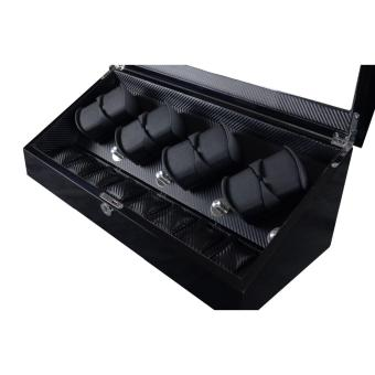 Harga Premium 8+8 Watch Winder with LED Lights