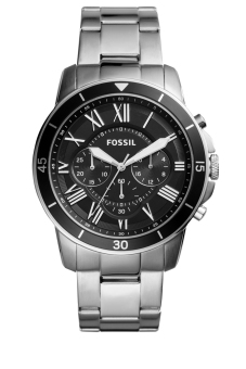 Harga Fossil Grant Sport Chronograph Stainless Steel Watch FS5236