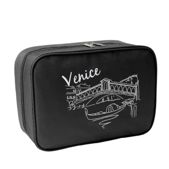 Harga Travel Organizer Travel Mate Toiletries Pouch Bag(venice Black) - Intl