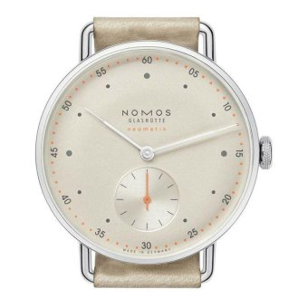Harga NOMO Simple Generous Flour Two Needle Half Man Quartz Watch - intl