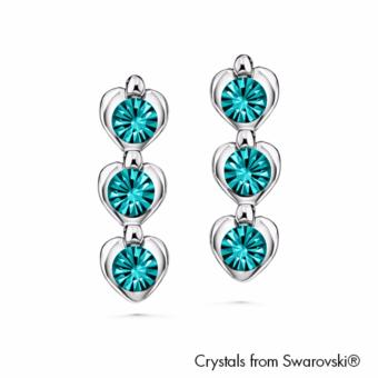 Harga Avril Earrings (Aquamarine) - Crystals from Swarovski®