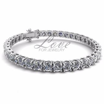 Harga Crystal Tennis Bracelet (Crystals from Swarovski®)