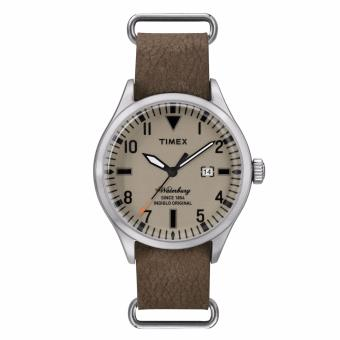 Harga Timex The Waterbury (Tw2P64600) - Brown Leather Stap + Stainless Steel Case