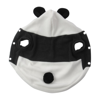 Harga new Cute Fleece Panda Clothes Warm Coat Costume Outwear Apparel for PET pet dog Cat CATM