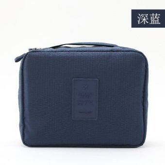 Harga Korea travel portable wash bag cosmetic bag large capacity storage bag cosmetic bag small travel storage bag travel bag