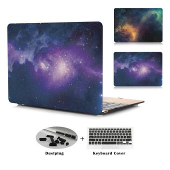Harga JUSHENG® Pro 13 Retina A1706/A1708 3in1 MacBook Star Plastic Hard Case with Keyboard Cover+Dust Plug r for Newest Macbook Pro 13 Inch with Retina Display No CD-ROM (A1706/A1708, Oct 2016) - intl