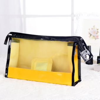 transparent fashion hand lady cosmetic bag storage bag finishing package travel wash bag