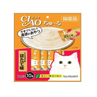 Harga CIAO Churu Chicken Fillet Scallop Flavor (14g x 10)