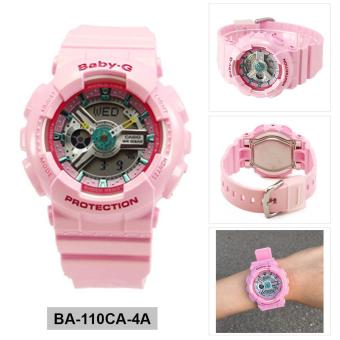 Harga Casio Watch Baby-G Pink Resin Case Resin Strap Ladies NWT + Warranty BA-110CA-4A