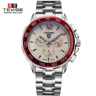 Harga Tevise 356 Fashion Men Automatic Mechanical Watch Cool Males Wrist Watches Gift Box Trend Steel Wristwatches - intl