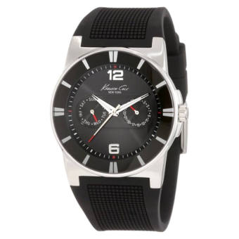 Harga Kenneth Cole New York Men's KC1405-NY Sport Trend Round black Watch(Export)(Intl)