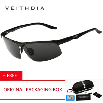 Harga VEITHDIA HD Brand Designer Eyeglasses Fashion Polarized Sunglasses Men's Glasses Driving Driver Sun Glasses Summer Classic 6502 ( Yellow ) [Buy 1 Get 1 Freebie] - intl