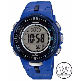 Harga Casio Protrek Tough Solar Multiband PRW-3000-2B Blue