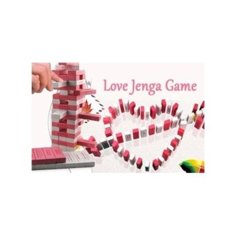 Harga Love Jenga Drinking Board Game. Excellent for couples or 2 Players Fun Creative Valentine Gift Idea