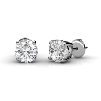 Harga Crystal Stud Earrings - Crystals from Swarovski®