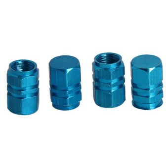 Harga Hanyu Automobile Tyre Cap Valve Caps Accessories Blue