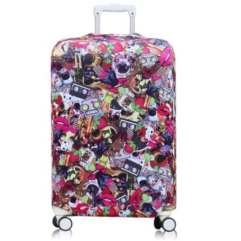 Harga 22-26 inch Travel Luggage Suitcase Protective Cover Bag