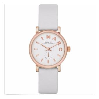 Harga Marc Jacobs MBM1284 Women's Baker Mini Leather Strap Watch - intl