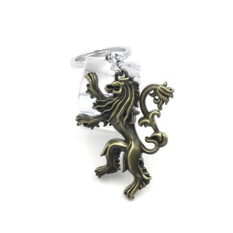 Harga Game of Thrones Song of Ice and Fire Families Badges Pendant Keychain Keyring Souvenir Gift - intl