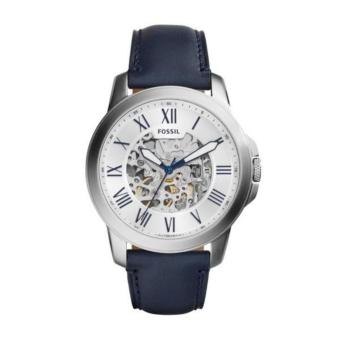 Harga FOSSIL Grant Automatic Silver Skeleton Dial Men's Watch ME3111