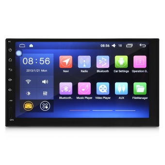 J-3862N Universal Android 6.0.1 Quad-core 7 Inch GPS WiFi DVR Car DVD Player - intl