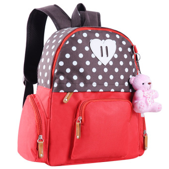 7b66b8168cef Korean-style men and women children s backpack kindergarten school bags