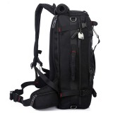 Multipurpose 40L Outdoor Hiking Backpack(Black) - 2