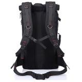 Multipurpose 40L Outdoor Hiking Backpack(Black) - 3