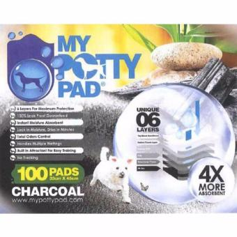 My Potty Pad (Charcoal) - (33cm x 45com) (100 pads)