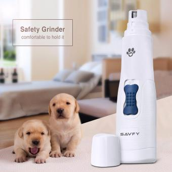 SAVFY Pet Nail Grinder Electric Pet Grooming Paws Grooming Trimmer Clipper Tool Medium and Small
