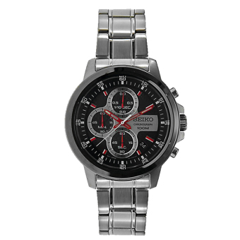 Seiko Men's Chronograph Stainless Steel Watch SKS505P1